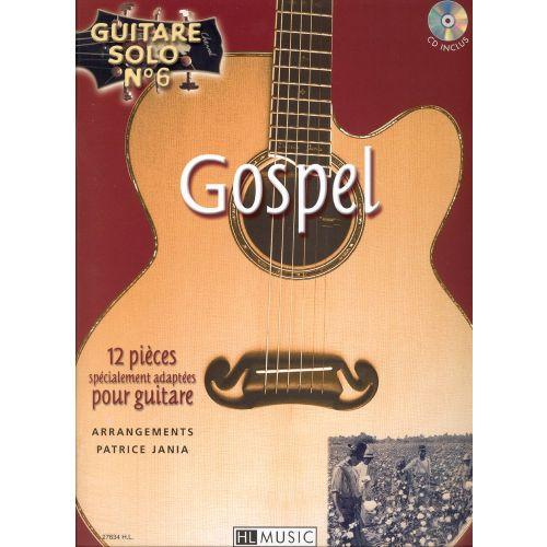 LEMOINE JANIA PATRICE - GUITARE SOLO N°6 : GOSPEL + CD - GUITARE