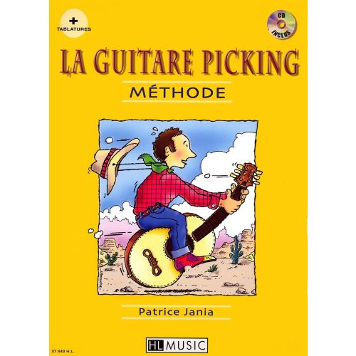 LEMOINE JANIA PATRICE - LA GUITARE PICKING + CD - GUITARE