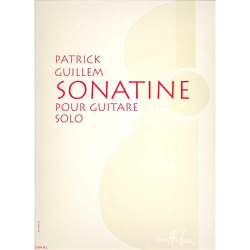 LEMOINE GUILLEM PATRICK - SONATINE - GUITARE