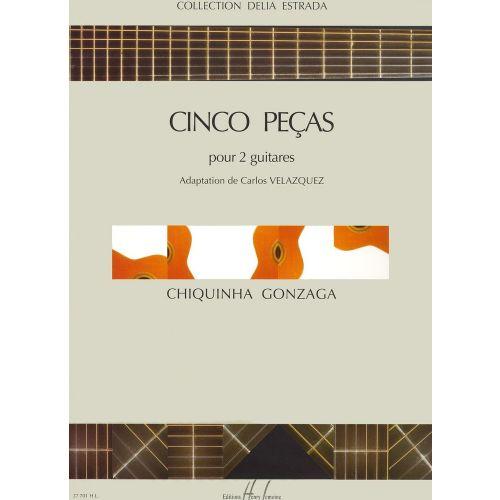 LEMOINE GONZAGA - CINCO PEÇAS - 2 GUITARES