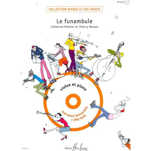 LEMOINE MONTIER C. / MASSON T. - FUNAMBULE (LE) + CD - VIOLON, PIANO