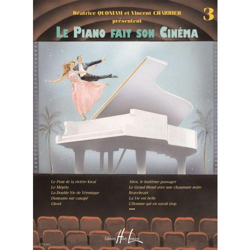 LEMOINE QUONIAM B. / CHARRIER V. - LE PIANO FAIT SON CINÉMA VOL.3