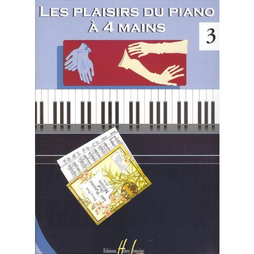 LEMOINE LES PLAISIRS DU PIANO À 4 MAINS VOL.3