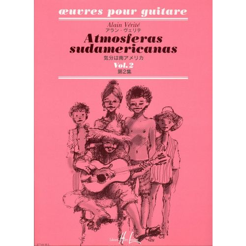 LEMOINE VERITE ALAIN - ATMOSFERAS SUDAMERICANAS VOL.2 - GUITARE
