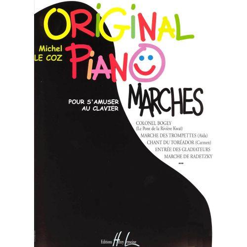 LEMOINE LE COZ MICHEL - ORIGINAL PIANO MARCHES - PIANO