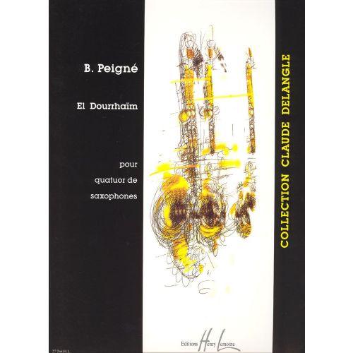 LEMOINE PEIGNE BERTRAND - EL DOURRHAÏM - 4 SAXOPHONES