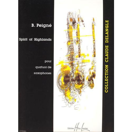 LEMOINE PEIGNE BERTRAND - SPIRIT OF HIGHLANDS - 4 SAXOPHONES