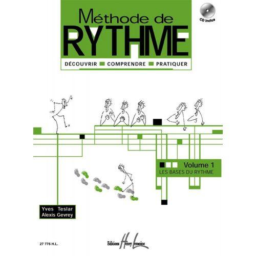 LEMOINE TESLAR Y./ GEVRAY A. - METHODE DE RYTHME VOL.1 + CD