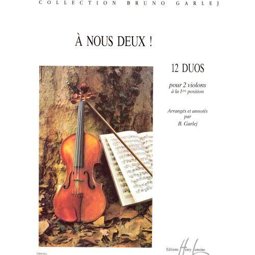 LEMOINE GARLEJ BRUNO - A NOUS DEUX ! - VIOLON