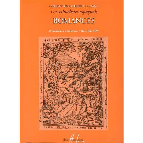 LEMOINE ROMANCES (COLL. LES VIHUELISTES ESPAGNOLS) - GUITARE, CHANT