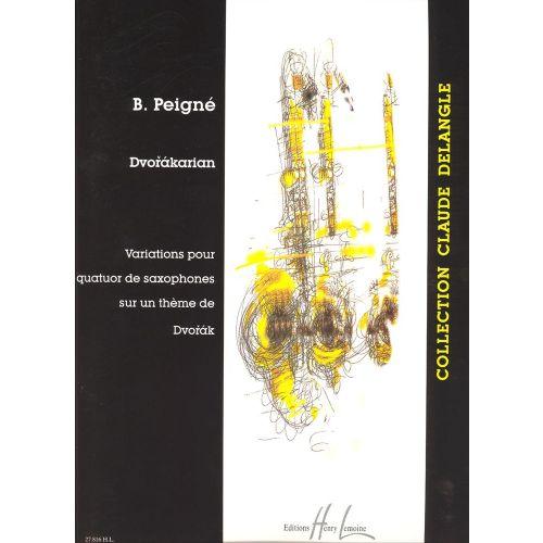 LEMOINE PEIGNE BERTRAND - DVORAKARIAN - SAXOPHONE