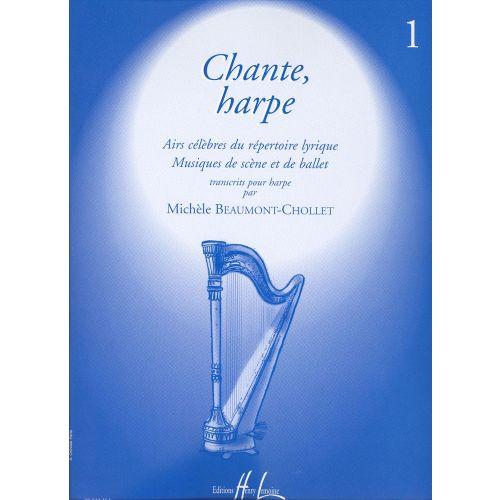 LEMOINE BEAUMONT-CHOLET MICHELE - CHANTE HARPE VOL.1 - HARPE