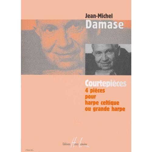 LEMOINE DAMASE JEAN-MICHEL - COURTEPIÈCES - HARPE
