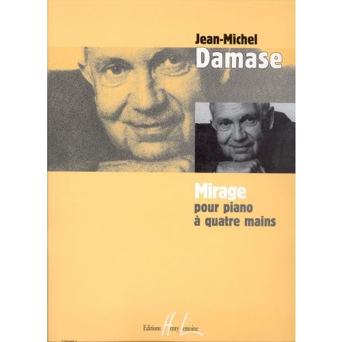 LEMOINE DAMASE JEAN-MICHEL - MIRAGE - PIANO