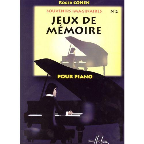 LEMOINE COHEN ROGER - SOUVENIRS IMAGINAIRES VOL.2 - PIANO
