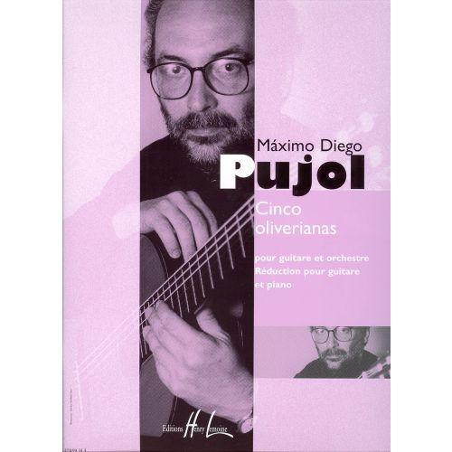 LEMOINE PUJOL MAXIMO-DIEGO - OLIVERIANAS (5) - GUITARE
