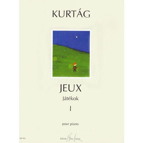 LEMOINE KURTAG GYÖRGY - JEUX (JATEKOK) VOL.1 - PIANO