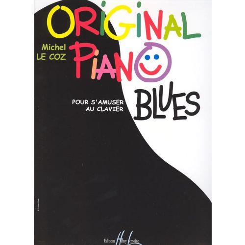 LEMOINE LE COZ MICHEL - ORIGINAL PIANO BLUES - PIANO