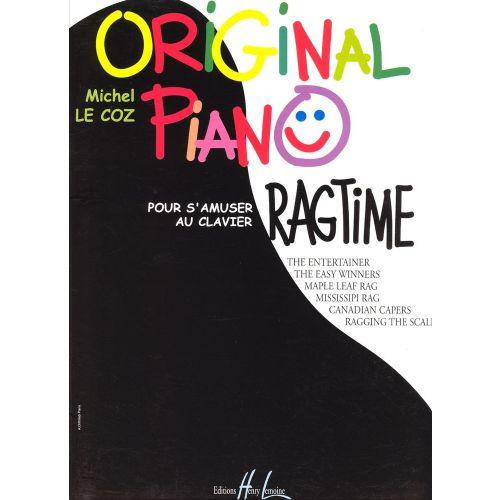 LEMOINE LE COZ MICHEL - ORIGINAL PIANO RAGTIME - PIANO