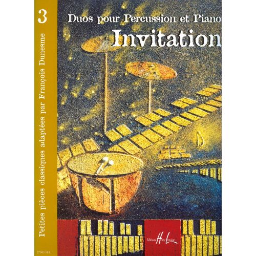 LEMOINE DUNESME FRANCOIS - INVITATION 3 - PERCUSSION