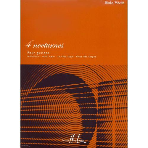 LEMOINE VERITE ALAIN - NOCTURNES (4) - GUITARE