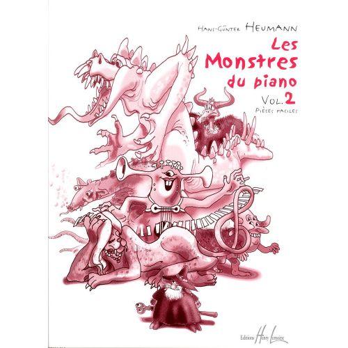 LEMOINE HEUMANN H.G. - LES MONSTRES DU PIANO VOL.2 - PIANO