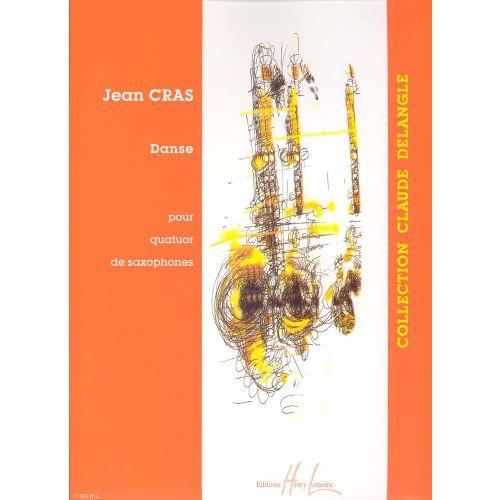 LEMOINE CRAS JEAN - DANSE - 4 SAXOPHONES