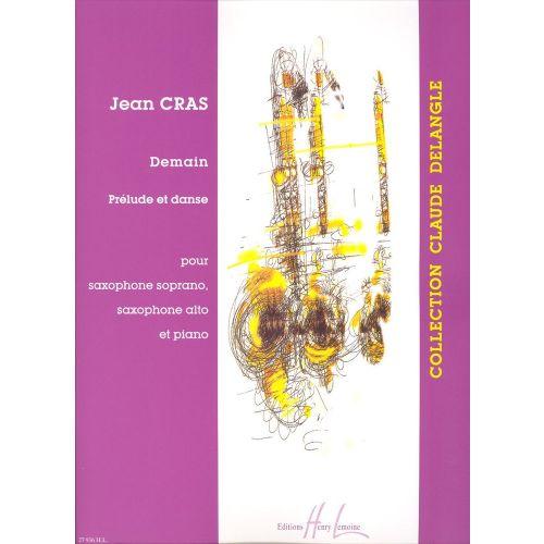LEMOINE CRAS JEAN - DEMAIN - SAXOPHONE