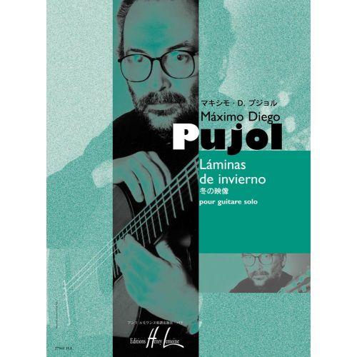LEMOINE PUJOL MAXIMO-DIEGO - LAMINAS DE INVIERNO - GUITARE