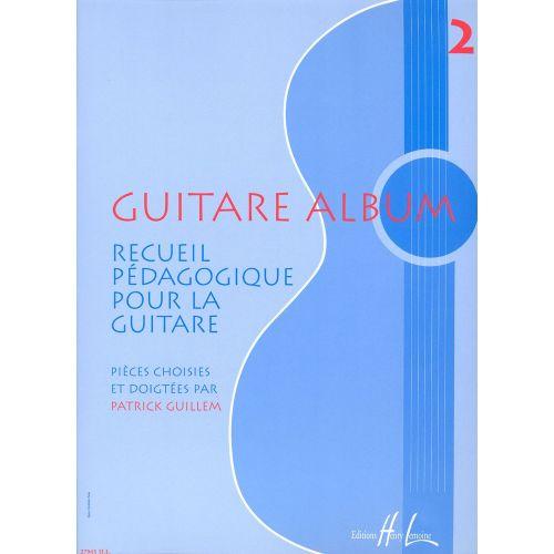 LEMOINE GUILLEM PATRICK - GUITARE ALBUM 2 - GUITARE