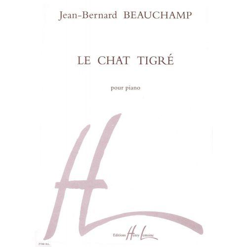 LEMOINE BEAUCHAMP JEAN-BERNARD - LA CHAT TIGRÉ - PIANO