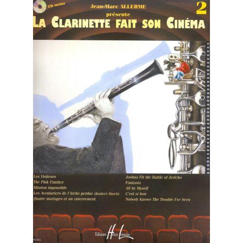 LEMOINE ALLERME JEAN-MARC - LA CLARINETTE FAIT SON CINÉMA VOL.2 + CD