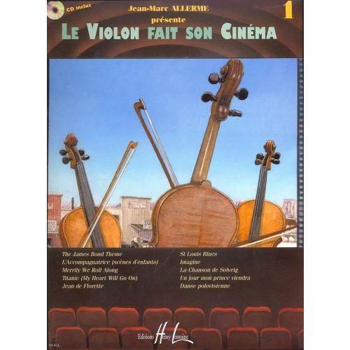 LEMOINE ALLERME JEAN-MARC - LE VIOLON FAIT SON CINÉMA VOL.1 + CD