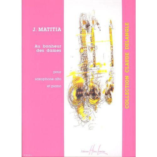 LEMOINE MATITIA JEAN - AU BONHEUR DES DAMES - SAXOPHONE