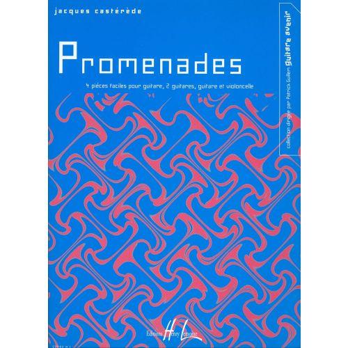 LEMOINE CASTEREDE JACQUES - PROMENADES - GUITARE