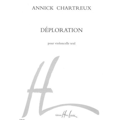 LEMOINE CHARTREUX ANNICK - DÉPLORATION - VIOLONCELLE