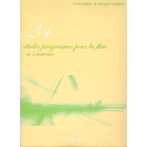 LEMOINE ANDERSEN JOACHIM - ETUDES PROGRESSIVES (24) - FLUTE