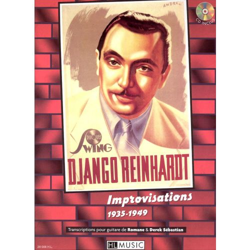 LEMOINE REINHARDT DJANGO - IMPROVISATIONS 1935-1949 + CD - GUITARE