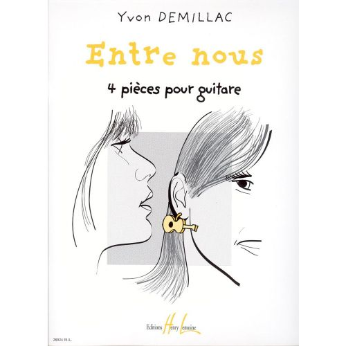 LEMOINE DEMILLAC YVON - ENTRE NOUS - GUITARE