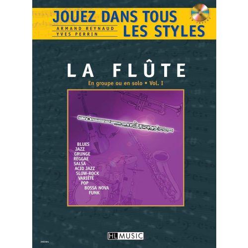 LEMOINE REYNAUD A./ PERRIN Y. - JOUEZ DANS TOUS LES STYLES VOL.1 + CD - FLUTE