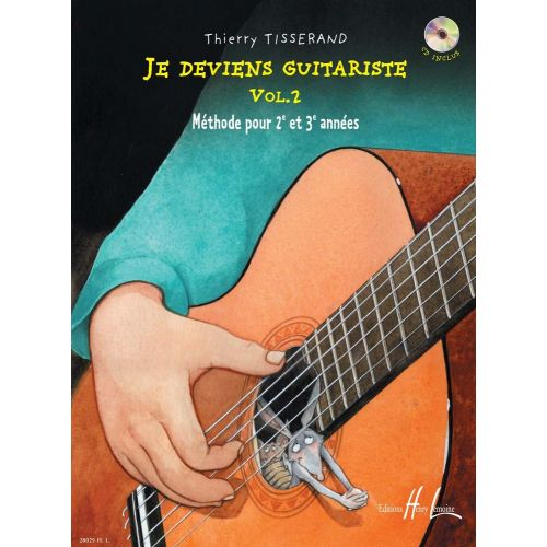 LEMOINE TISSERAND THIERRY - JE DEVIENS GUITARISTE VOL.2 + CD