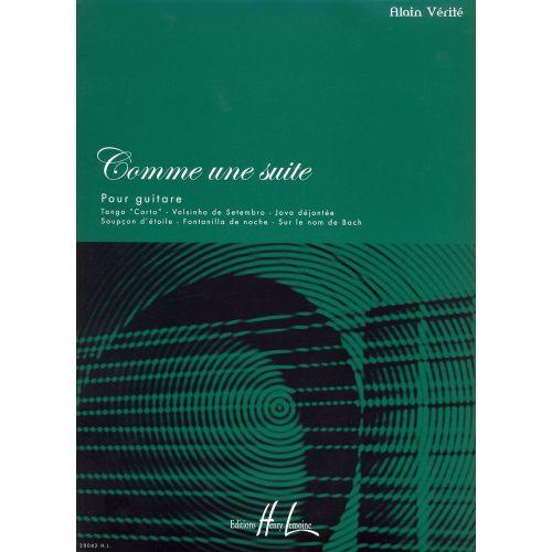 LEMOINE VERITE ALAIN - COMME UNE SUITE - GUITARE