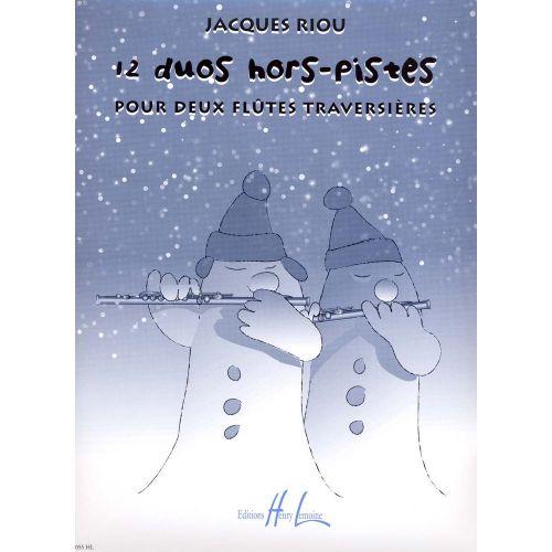 LEMOINE RIOU JACQUES - DUOS HORS-PISTES (12) - 2 FLUTES