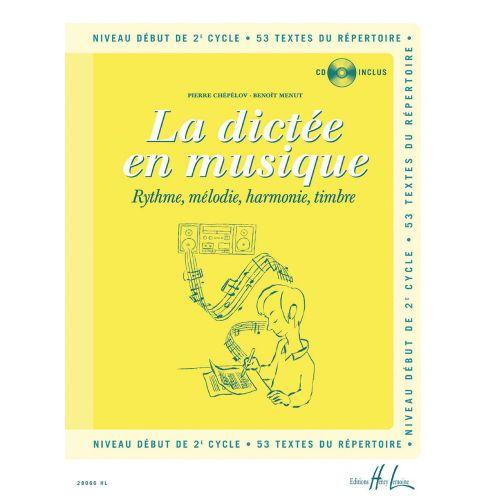 LEMOINE CHEPELOV P. / MENUT B. - LA DICTÉE EN MUSIQUE VOL.4 + CD - DÉBUT DU 2EME CYCLE