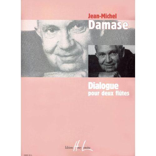 LEMOINE DAMASE JEAN-MICHEL - DIALOGUE - 2 FLUTES