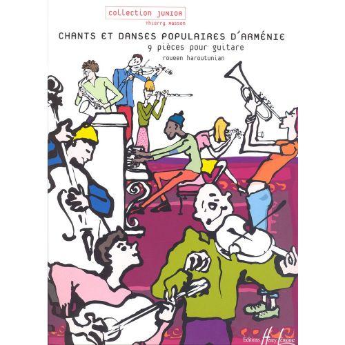 LEMOINE HAROUTUNIAN RUBEN - CHANTS ET DANSES POPULAIRES D'ARMÉNIE - GUITARE