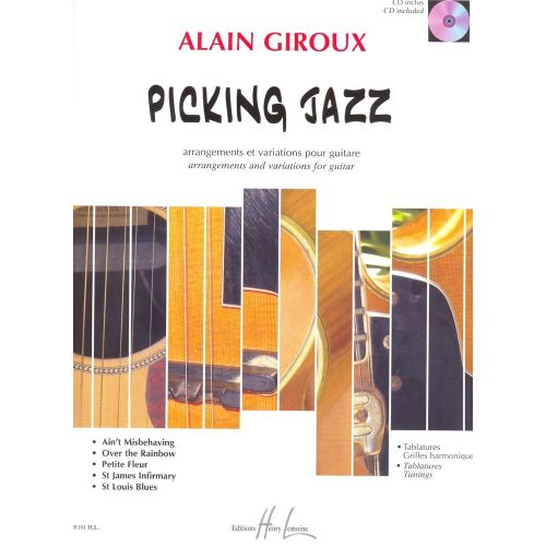 LEMOINE GIROUX ALAIN - PICKING JAZZ + CD - GUITARE