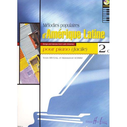 LEMOINE RIVOAL Y./ KOBIKI M. - MELODIES POPULAIRES D'AMERIQUE LATINE VOL.2C - PIANO