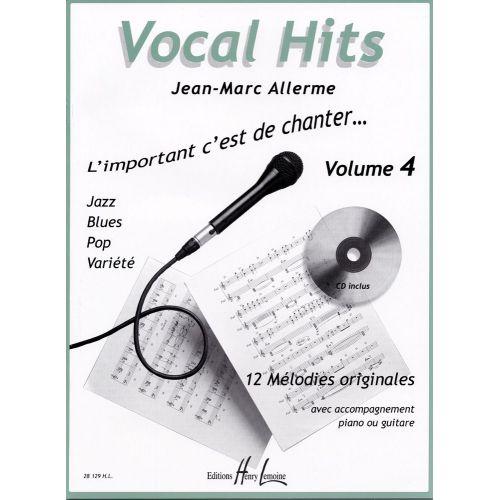 LEMOINE ALLERME JEAN-MARC - VOCAL HITS VOL.4 + CD