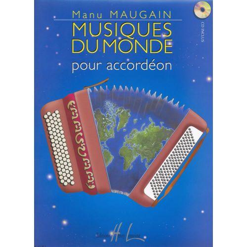 LEMOINE MAUGAIN MANU - MUSIQUES DU MONDE + CD - ACCORDÉON